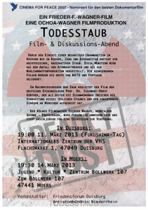 Film-Poster Deadly Dust - Todesstaub